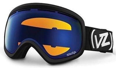 b5d6418ecdb5 NEW VonZipper Skylab Black Wildlife Low Light Mens Ski Goggles +lens  Msrp 170