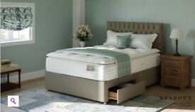Bespoke Grandeur Double mattress and divan for sale