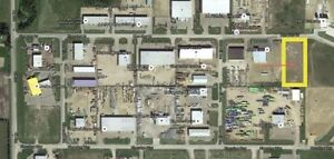 2 acres Industrial land for rent Clearview Industrial Red Deer