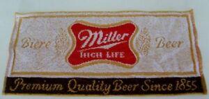 Bar Mats Miller Highlife Terry Cloth NEW 10 total
