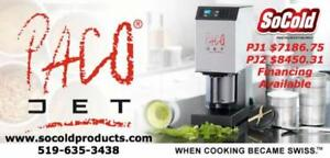Pacojet 1 in your kitchen! LEASE FOR $169.25 *RESTAURANT EQUIPMENT PARTS SMALLWARES HOODS AND MORE*