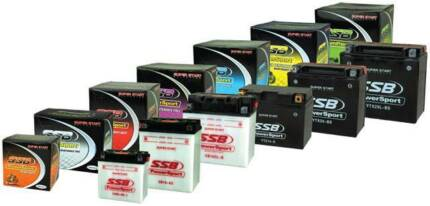 CHEAP REAILABLE MOTORCYCLE BATTERIES FOR ALL MAKES & MODELS 1YR W
