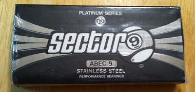 Sector 9 PLATINUM SERIES ABEC 9 Performance Skateboard Longboard Bearings, used for sale  Warner Robins