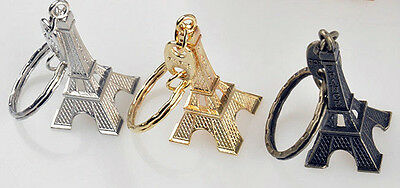 Paris France Tower - LOT OF 3 PARIS FRANCE EIFFEL TOWER  KEY CHAINS. GOOD STUFF FROM JUNKMANRALF  KC6