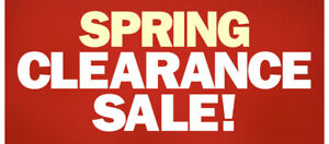 Spring Clearance Sale - Floor model New & Used Piano Clearance