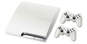 LOOKING FOR WHITE PS3 SLIM 500GB CONSOLE Cambridge Kitchener Area image 2