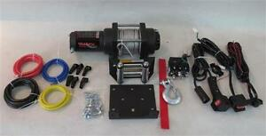 WINCH 3500LBS 12V 250AMP 3.8HP WARRANTY WINCHES PULL CABLE NEW