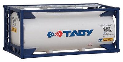H0 Tankcontainer 20 Fuß Taby -- 8105 NEU