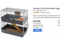 Ferplast 100 double rabbit cage