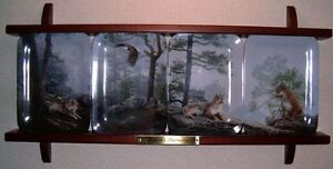 Natures Harmony 4 plate collector series  From Bradford exchange