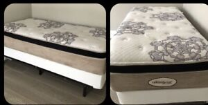 Twin size BED ( mattress / box spring / bed frame)