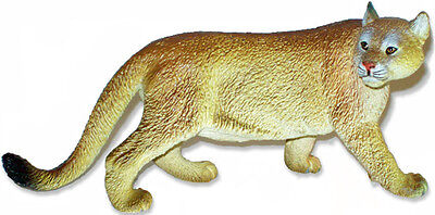 AAA 52012 Cougar Mountain Lion Wild Animal Puma Toy Model Figurine Replica - NIP