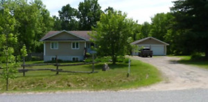 New Price: Country Home with Large Garage