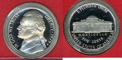 1979 S Jefferson Nickel Type 2 Deep Cameo Gem Proof