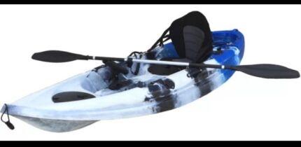 2.7m Kayak - Blue Camo Colour - Brand New Nambucca Heads Nambucca Area Preview