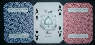 Playing cards Cosmopolitan casino used 10 decks