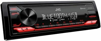 JVC KD-X270BT Single DIN In-Dash Bluetooth CD DVD Car Stereo Receiver