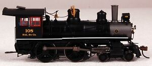 Spectrum HO Scale Train Steam 4-4-0 American DCC Equipped Seaboard 80104