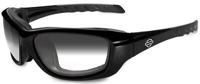 Harley-Davidson® Wiley-X Gravity Gloss Light Adjusting Sunglasses (Light Adjusting Sunglasses)