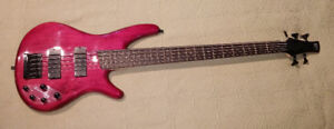 Ibanez SR405 5-String Electric Bass Guitar with Case