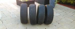 4 pneu d été 205/55/16 brigestone turanza 89h bon pour été 2 été
