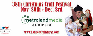 38th Annual London Christmas Craft Festival Show and Sale