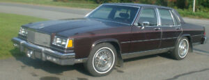 BUICK LESABRE LIMITED 1985 COLLECTOR`S ÉDITION 51000 KM*****