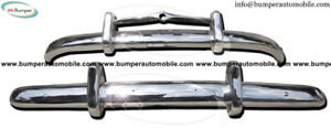 Volvo PV 444 bumper kit new (1947-1958) stainless steel