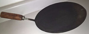 Traditional Indian Iron Flat Pans And Skillet