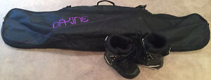 Roxy Ally Snowboard - boots, bindings and bag included