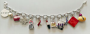 Avon Limited Edition 125th Anniversary Charm Bracelet