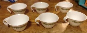 Spring Blossom mugs, by Corelle/Corning/Pyrex, Set of Six cups