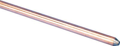 Erico 58 In. Copper-bonded Steel Ground Rod 1 Pk