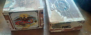 Nine Vintage Cigar Boxes Kitchener / Waterloo Kitchener Area image 2