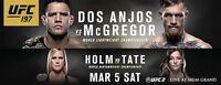 UFC 196  Dos Anjos vs McGregor and Holm vs Tate