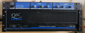 Qsc- USA 850 Professional Power Amplifier, used for sale  Truro, Cornwall
