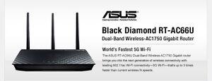 ASUS RT-AC66U Dual-Band Wireless-AC1750 Gigabit Router