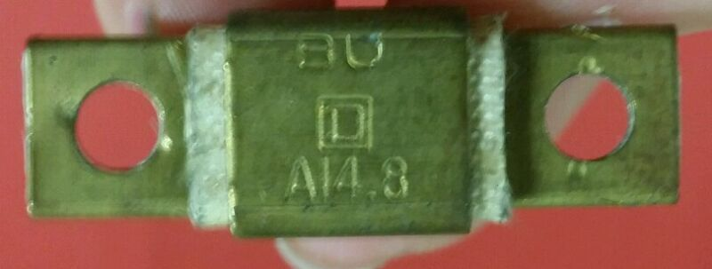 Square D Overload Relay Thermal Unit Type: A 14.8 ~ NEW OLD STOCK ~