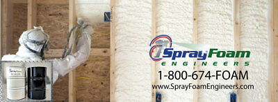 Spray Foam Insulation -open Cellclosed Cell- Barrel Sets