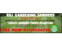 RNJ gardening services