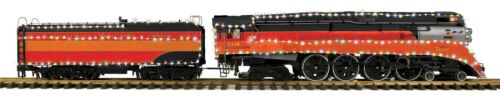 MTH G Gauge 4-8-4 Gs-4 Led Northern Steam Engine Proto-Sound 3.0 CHRISTMAS New