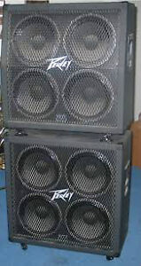 Peavey Guitar Cab(s), 412m, 412ms, or two full-stacks