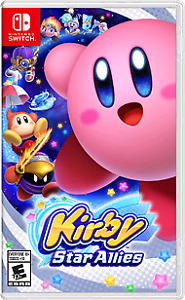 NINTENDO SWITCH GAMES - KIRBY DRAGONBALL STREET FIGHTER
