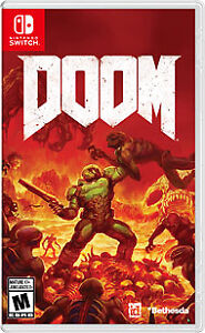 DOOM FOR NINTENDO SWITCH   (Woodstock)