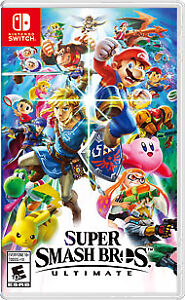Super Smash Bros Ultimate Switch - Barely used; plays perfect.60