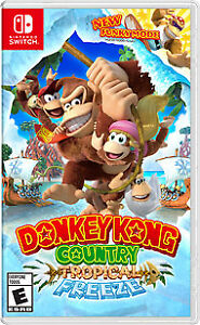 Looking for Donkey Kong: Tropical Freeze for the Nintendo Switch