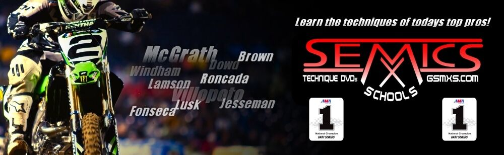 Gary Semics Motocross Skills DVDS