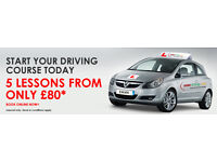 Abduls Driving School- 5 lessons for £80 ALL AREAS
