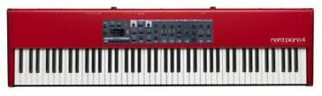 Nord Piano 4 met triple pedal OPRUIMING