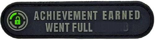 Achievement Earned Went Full Patch (PVC- 3.5 X 0.75 -Y7)